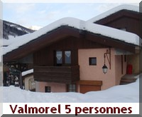 appartement Alpes 5 personnes