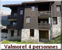 appartement Alpes 4 personnes